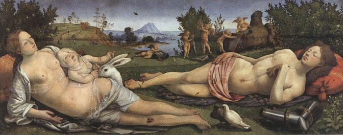 Sandro Botticelli Piero di Cosimo,Venus and Mars (mk36)